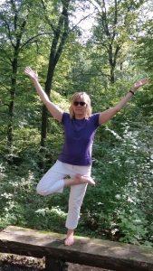 Yoga in der Natur in 75428 Illingen, in der Nähe von Mühlacker und Vaihingen an der Enz